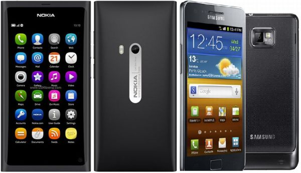Nokia N9 vs. Samsung Galaxy S2