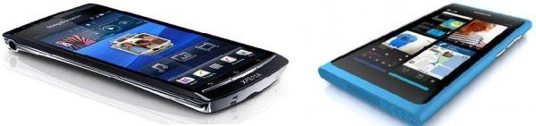 Nokia N9 vs Sony Ericsson Xperia Arc