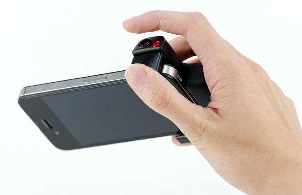 Photojojo's iPhone Shutter Grip
