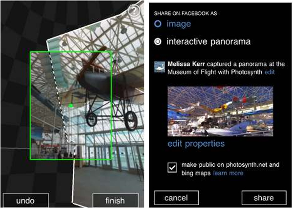 Photosynth for Windows Phone