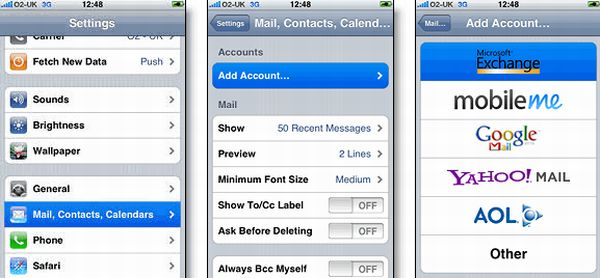 Push Gmail on your iPhone