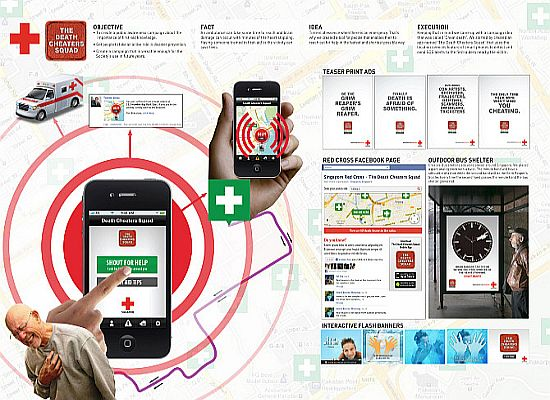 Red Cross Vicinity Rescue App