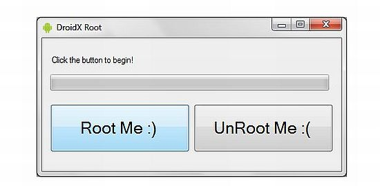 root droid x