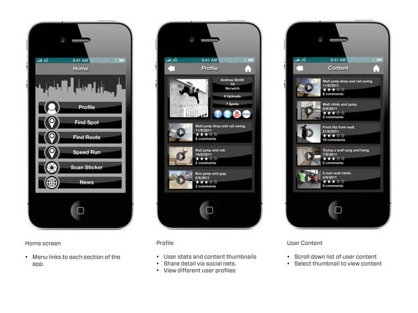 Run The City - Parkour App
