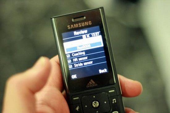samsung adidas phone sgh f110