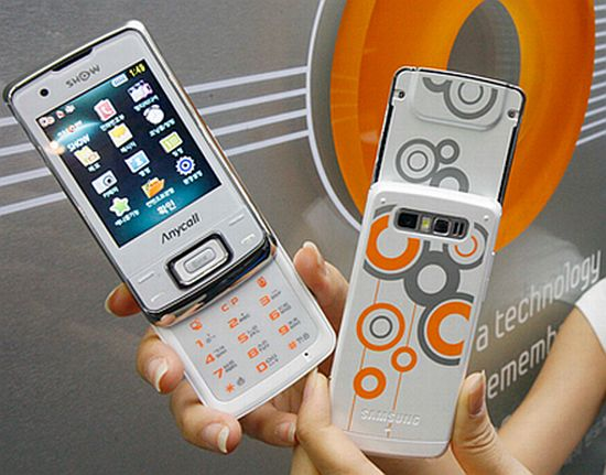samsung honey bubble sph w8700