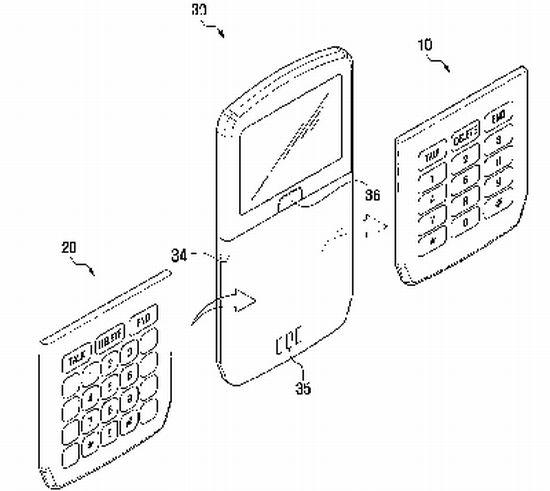 samsung battery keypad concept