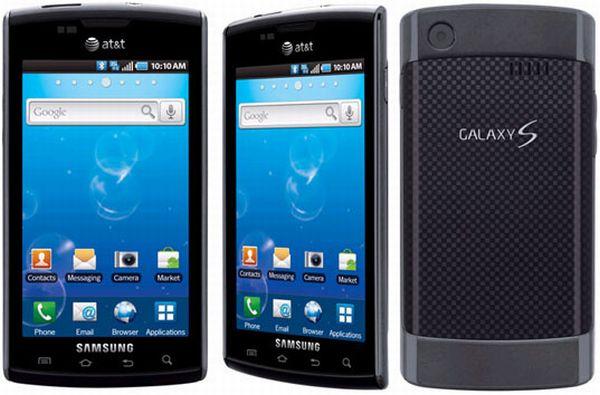 Samsung captivate Galaxy S