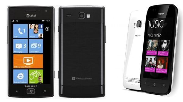 Samsung Focus Flash vs. Nokia Lumia 710