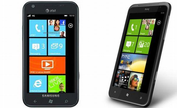 Samsung Focus S vs HTC Titan