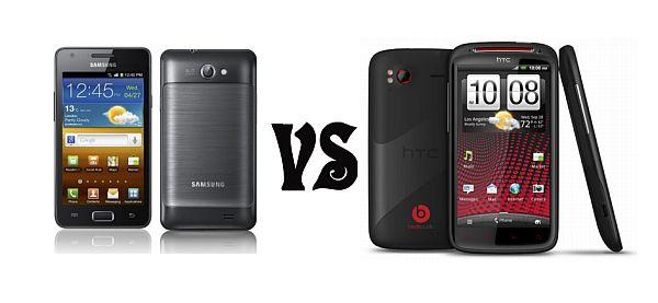 Samsung Galaxy R vs. HTC Sensation