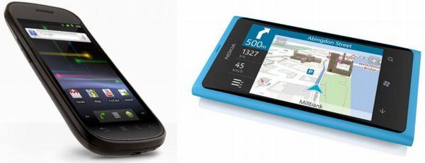 Samsung Nexus Prime vs. Nokia Lumia 800
