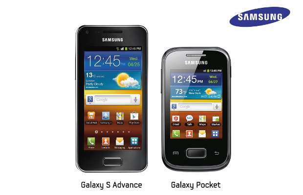 Samsung to add Galaxy S Advance and Galaxy Pocket to its Galaxy series of phones