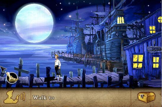 secret of the monkey island iphone application