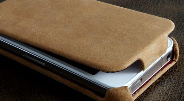 SGP iPhone 4S Leather Case