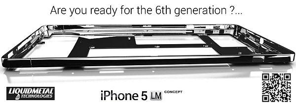 Sixth Generation iPhone Liquidmetal Concept