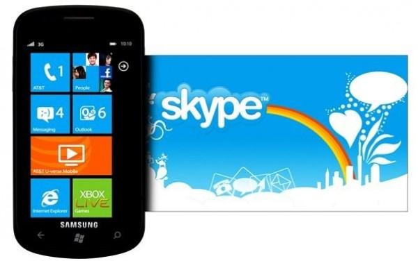 Skype for Windows Phones