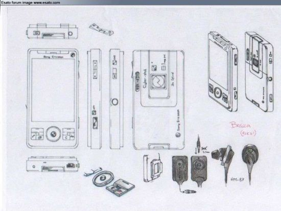 sony ericsson cyber shot flagship phone concept 1