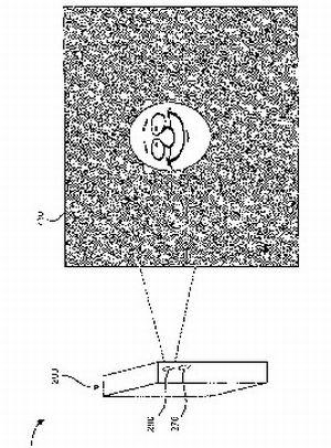 sony ericsson patents projector