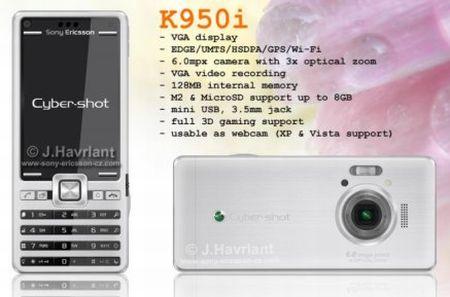 sony k950i