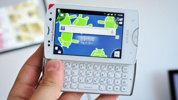 Sony Ericsson Xperia Pro Mini