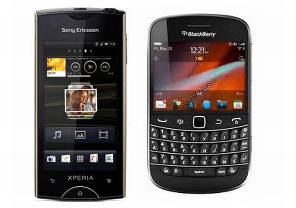 Sony Ericsson Xperia ray vs. BlackBerry Bold 9900