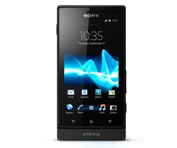 Sony Xperia Sola's floating touch