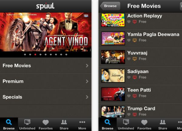 Spuul brings Bollywood to the iPhone and iPad