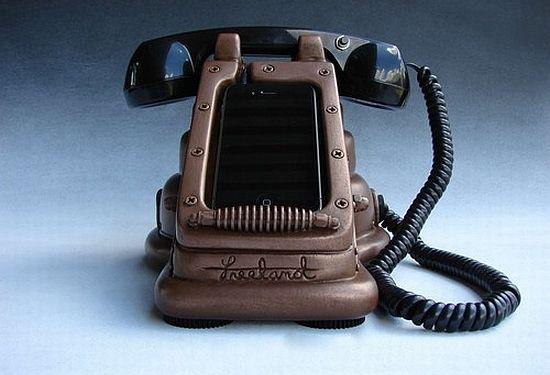 steampunk iphone handset 1