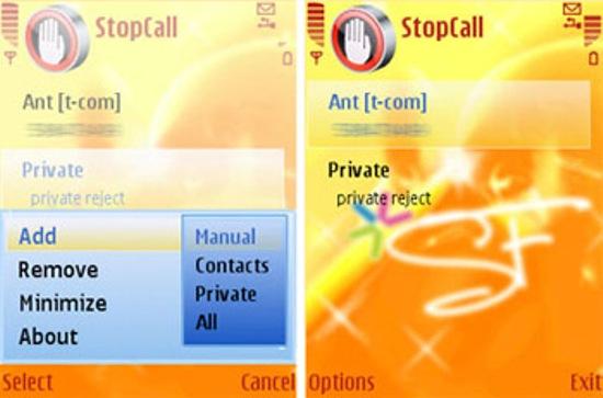 stopcall s60 ygnRF 7878