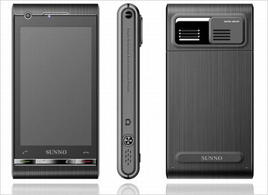 sunno s880 dual os phoneandroid windows mobile