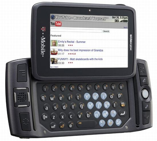 t mobile sidekick lx with telenav sidekick navigat