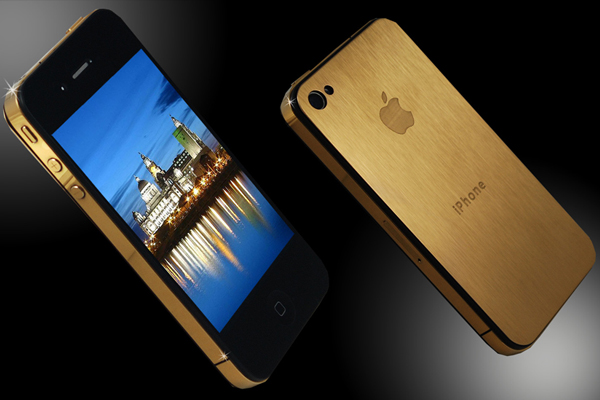 The spectacular iPhone 4GS Gold