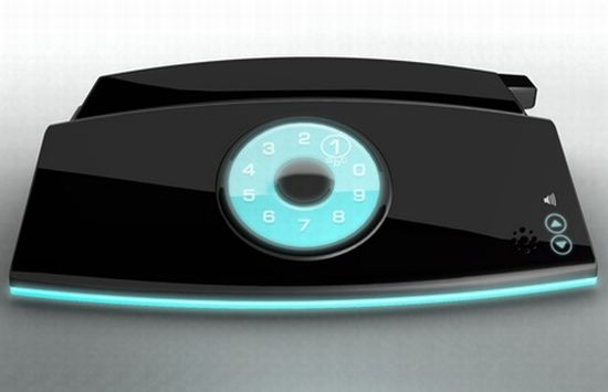 touch screen rotary concept phone 1