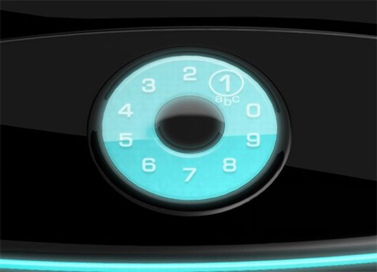 touch screen rotary concept phone 3