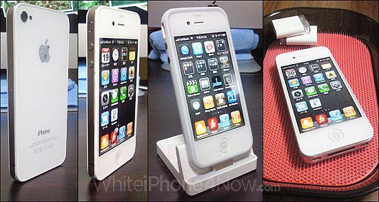 white iphone 1