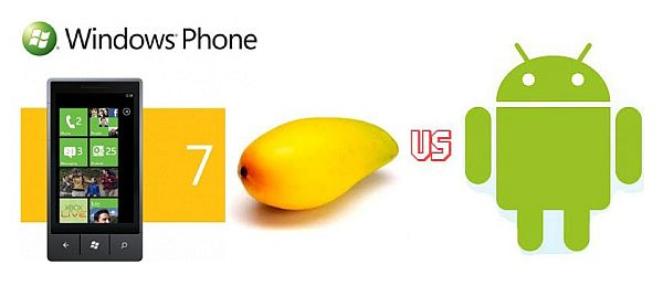 Windows Phone 7 Mango vs.Windows Phone 7 Mango