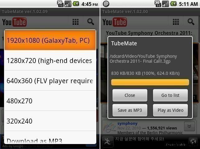 scargar tube video downloader gratis (android)