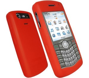 BB8110-Red UK Red Blackberry Pearl 8110 Both