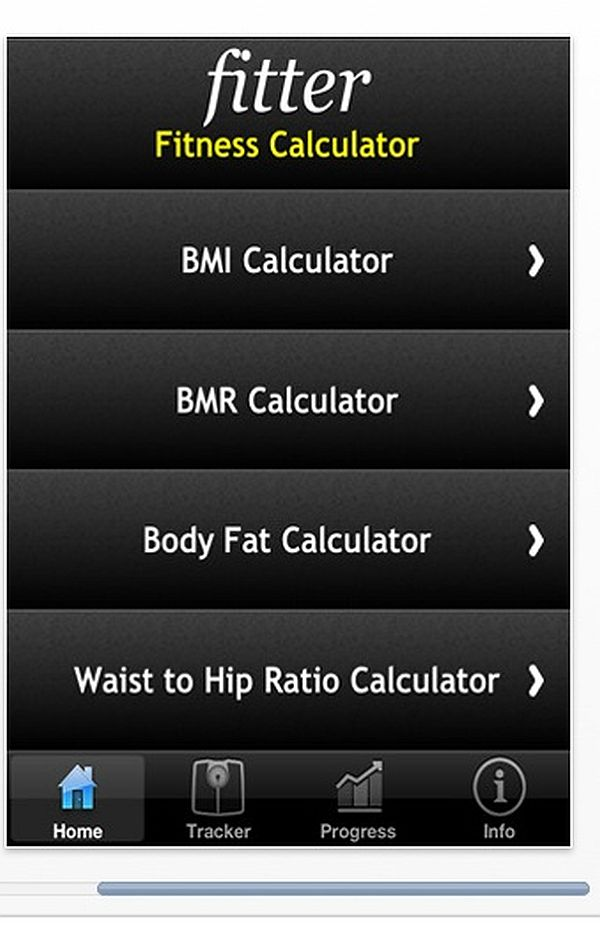 Fitter Fitness Calculator