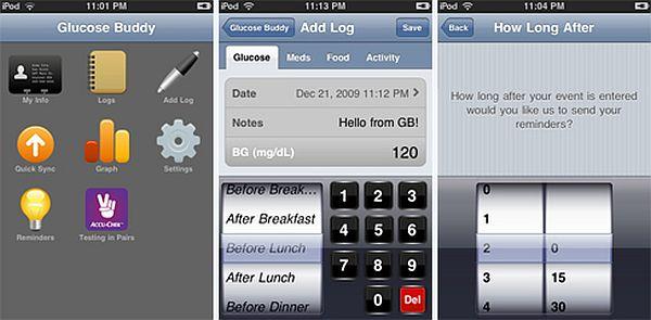 The Glucose Buddy App