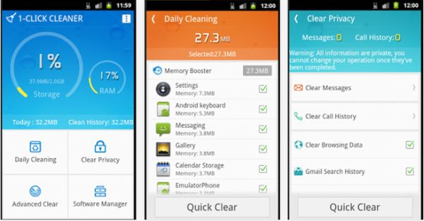 1-Click Cleaner by OPDA Team