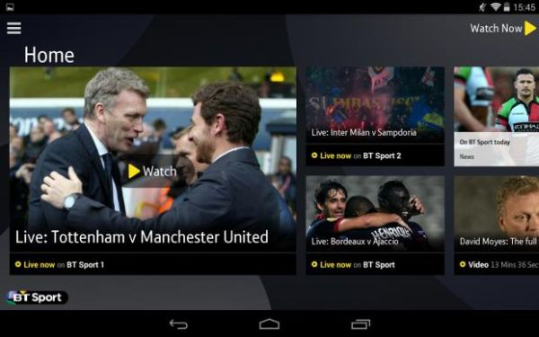BT Sport for Chromecast