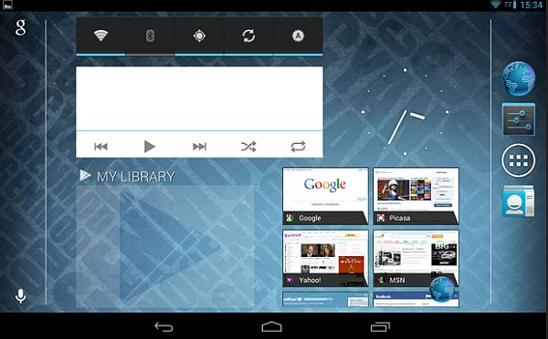 Cyanogen MOD 10 on nexus 7