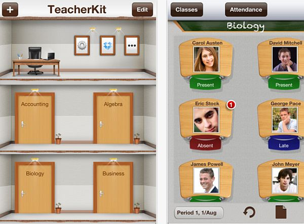 Teacher kit app