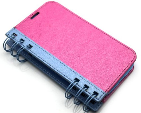 Big dragonfly notebook wallet case 2