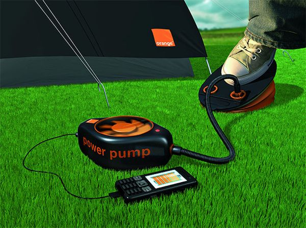Orange power pump