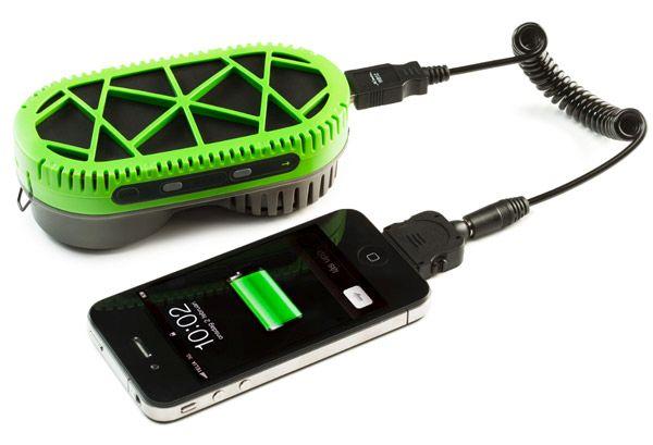 Powertrekk fuel cell charger