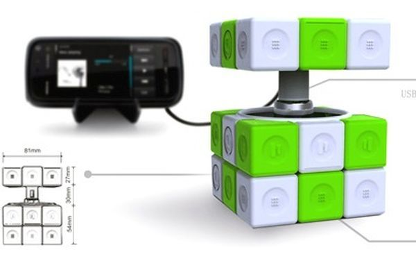 Rubik's Cube Charger