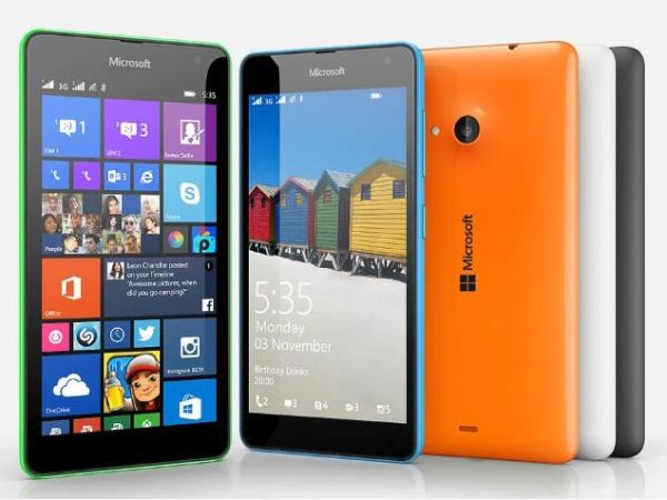 The Microsoft Lumia 535 Dual SIM